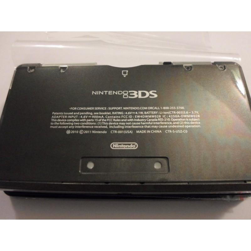 Coque noire pour nintendo 3ds passgame fr for Ecran noir appareil photo 3ds