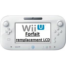 Forfait réparation d'écran manette Gamepad Wii U