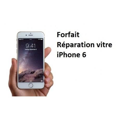 Forfait réparation vitre Iphone 6