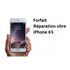 Forfait réparation vitre Iphone 6S