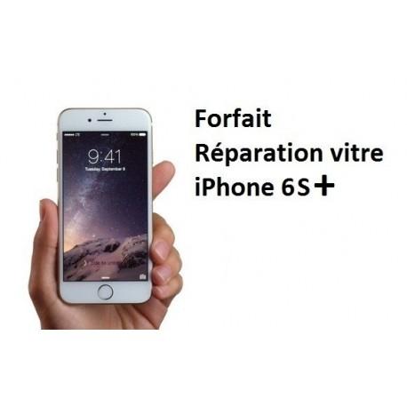 Forfait réparation vitre Iphone 6S Plus