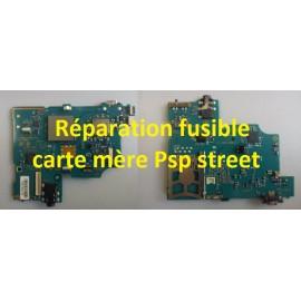 Réparation fusible F7002 1A pour PSP Street