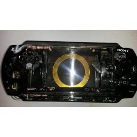Coque complète noire transparent PSP 1000 1004