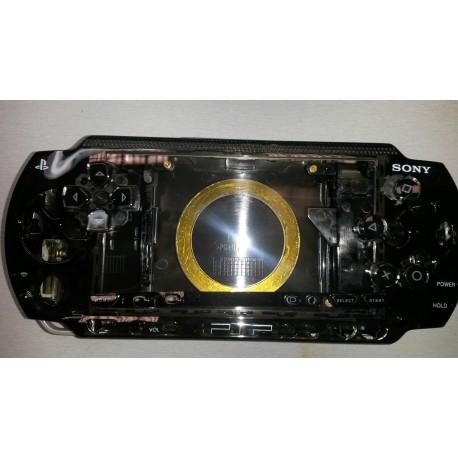 Coque Complte Noire Transparent PSP 1000 1004