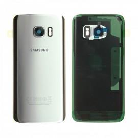 Vitre arrière pour Samsung galaxy S7 G930F Argent