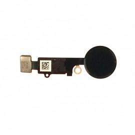 Bouton Home noir avec nappe pour iphone 7