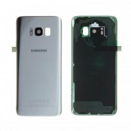 Vitre arrière d'origine pour Samsung galaxy S8 G950F ARGENT POLAIRE