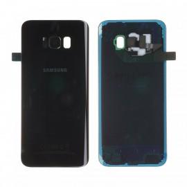 Vitre arrière d'origine pour Samsung galaxy S8 Plus G955F NOIR
