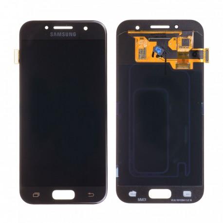 Forfait remplacement vitre + LCD Samsung Galaxy A3 2017 A320F NOIR