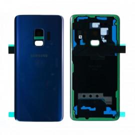 Vitre arrière d'origine pour Samsung galaxy S9 G960F BLEU CORAIL