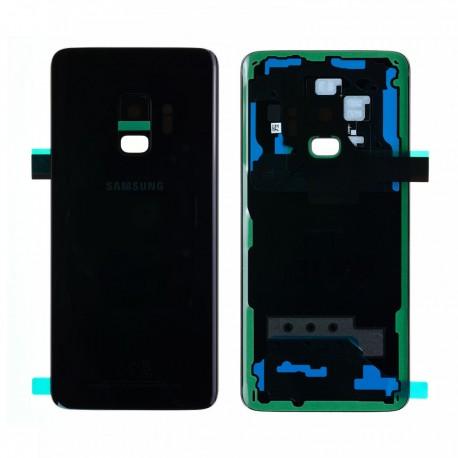 Vitre arrière d'origine pour Samsung galaxy S9 G960F NOIR CARBONE