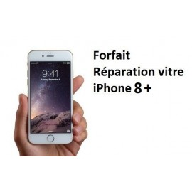 Forfait réparation vitre Iphone 8