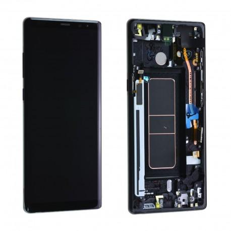 Forfait remplacement vitre + LCD Note 8 Noir