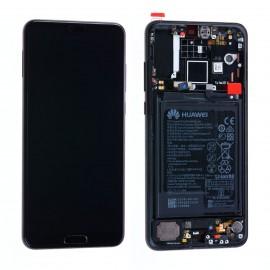 Forfait vitre Huawei P20 Pro CLT-L04 noir