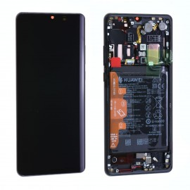 Forfait vitre Huawei P30 Pro VOG-L09 noir