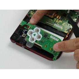 Démontage et désoxydation du disque de contact bouton de carte mère 3DS XL