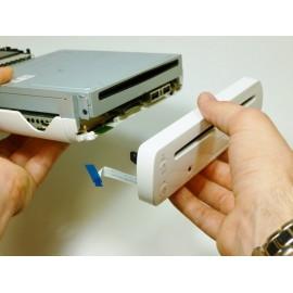 Démontage de lecteur Wii pour extraction d'un objet