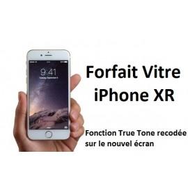 Forfait réparation vitre Iphone XR (avec fonction True Tone conservée)