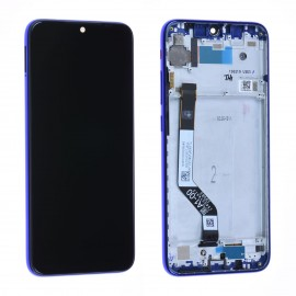 Forfait remplacement vitre + LCD Xiaomi Redmi note 7 bleu