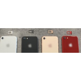 Remplacement de vitre arrière avec châssis pour Iphone 8