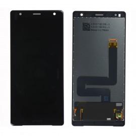Forfait remplacement de vitre tactile et LCD Sony xperia XZ2 H8216 noir