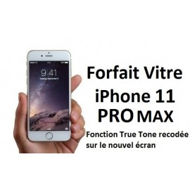 Forfait réparation vitre Iphone 11 PRO Max