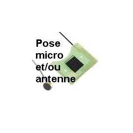 Pose micro et/ou antenne pour DSlite