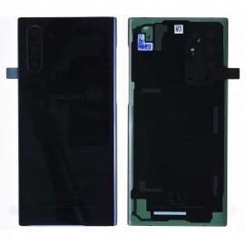 Vitre arrière d'origine pour Samsung Galaxy Note 10 N970F Noir Cosmos