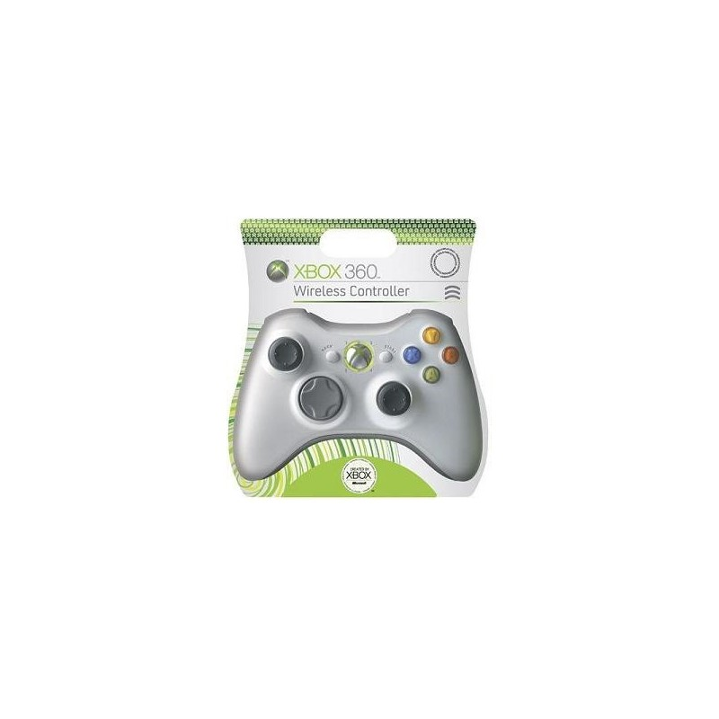 manette blanche officielle xbox 360 sans fil 39 passgame fr. Black Bedroom Furniture Sets. Home Design Ideas