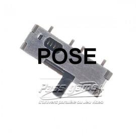 Pose et soudure de l'interupteur pour DSlite