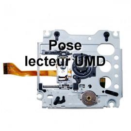 Pose de lecteur UMD pour PSP