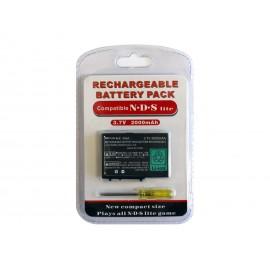 Batterie pour Nintendo DSlite 2000mAh, tournevis inclu