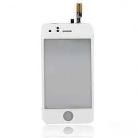Vitre avec écran tactile d'origine Iphone 3G blanc