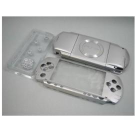 Coque complète d'origine gris silver PSP 1000 1004