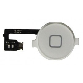 Bouton blanc Home iphone 4 avec nappe
