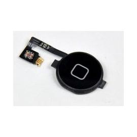 Bouton noir Home iphone 4 avec nappe