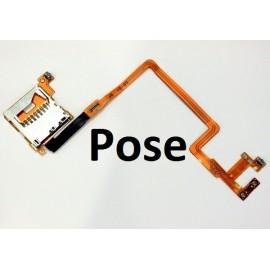 Pose Nappe complète avec boutons L et R, slot carte SD