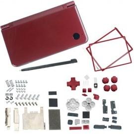 Coque rouge d'origine pour Nintendo DSi XL