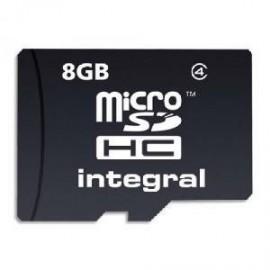 Carte micro SD 8Go Class 4 + adaptateur SD