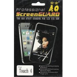 Film de protection d'écran pour ipod touch 4