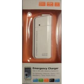 Chargeur de secours universel pour iPhones, iPod, tablettes et smartphones