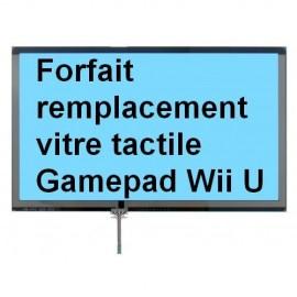 Forfait réparation vitre tactile manette Gamepad Wii U