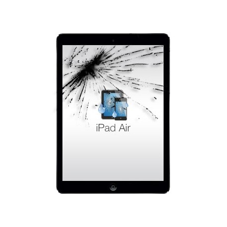 Remplacement vitre tactile iPad 5 air + joint