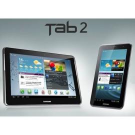 """Forfait vitre Samsung Galaxy Tab 2 10"""" p5110 p5100 noir ou blanc"""