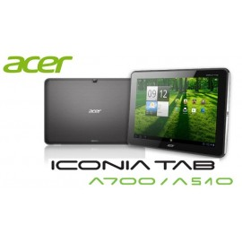 Forfait vitre Acer iconia TAB A700 A510 noir ou blanc
