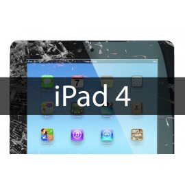 Remplacement vitre tactile iPad 4 + joint