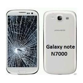 Forfait remplacement vitre Samsung galaxy Note N7000 noir ou blanc